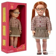 """Our Generation 18"""" APRIL Doll (Red Hair w/ Green Eyes) NIB/Sealed *IN STOCK*"""