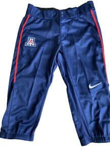 NWT Nike Vapor Prime Arizona Wildcats Women's Softball Pants Blue Sz. M