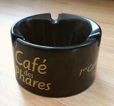 "CENDRIER EN BAKELITE ""LE CAFE DES PHARES"" LE 1er CAFE DES PHILOSOPHES"