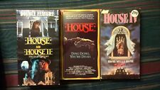 House VHS Lot - House 1, 2 & 4