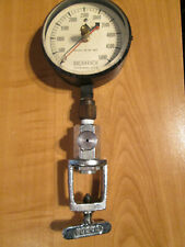 """Bacharach Gauge 5000 Psi 3 3/4""""dial Steampunk Double needle Re-purposed co2"""