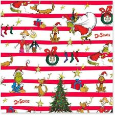 Dr. Seuss's How the Grinch Stole Christmas  Jumbo Christmas Wrapping Paper Roll