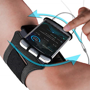 Sports Armband: Cell Phone Holder Case Arm Band Strap Pouch Mobile Exercise R...