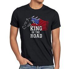 King of the Road Herren T-Shirt Amerika America Muscle Car motor tuning auto usa