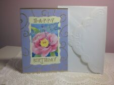 Carol's Rose Garden - Happy Birthday - A Dragonfly on a Flower on the cover