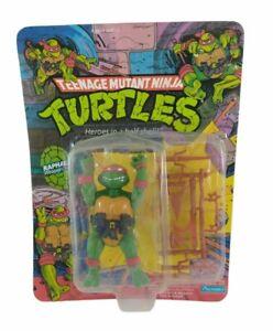 Playmates 1988 TMNT Raphael Plastic Head Action Figure  Rare New, not mint