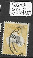 AUSTRALIA (P2811B) ROO 5/- 3RD WMK  SG 42 SYDNEY CDS    VFU