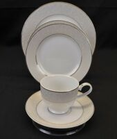 MIKASA Parchment Fine China, 5pc Setting, New Never Used, Dishwasher Safe