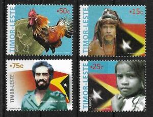 Timor Freimarken 2005 Mi 377/380 postfrisch, KW 20,00€, S3-21-69
