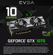 EVGA NVIDIA GeForce GTX 1070 SC 8GB GDDR5 Gaming Black Edition Graphics Card