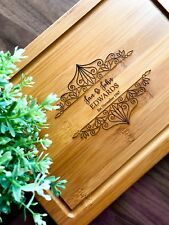 Personalised Chopping Board,Presentation Serving/Cheese Board - Anniversary Gift