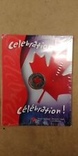 2004 Canada 25 Cents Coin, Colorized quarter, mint sealed Canada Day Celebration
