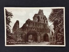 Vintage RPPC: Essex : #T21: St Botolphs Priory, West Front, Colchester