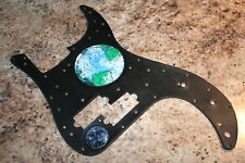Leather Pick Guard - Fender Precision Bass -Hand Tooled Earth Moon Stars usa mim
