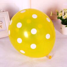 10/20 pcs Latex Polka Dot Balloon Party Wedding Birthday Colorful Decorating New