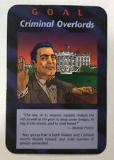 ILLUMINATI NEW WORLD ORDER CARD GAME TCG -CRIMINAL OVERLORDS NEAR MINT TO MINT