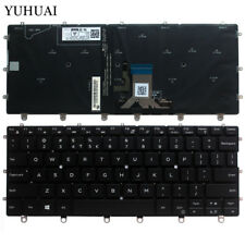 For Dell XPS 13 9365 2-in-1 US UI layout backlit keyboard PK131QS1A01 0K0P6H