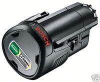 Batería Recargable de 10,8 V de litio con 2 Amperios de Capacidad Bosch Novedad