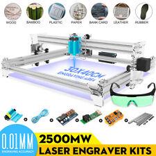 2500mW EleksMaker EleksLaser-A3 Pro Laser Engraving Machine CNC Laser Printer UK