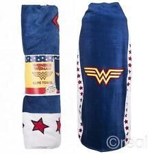 New DC Comics Wonder Woman Cape Towel Logo Beach Bath Justice League Official