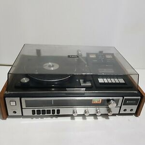 Sanyo G-2711 Super Vintage Stereo Hifi Turntable and Cassette - ISSUES