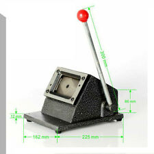 Pro Heavy Duty 86 x 54mm Card Cutter Punch Cut Passport Photos PVC ID Card Paper