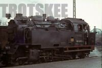 35mm Slide DR East Germany Railways Steam Loco 99 6001 Gernrode 1972 Original