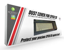 Amstrad CPC 6128 : protection clavier ( Dust cover )