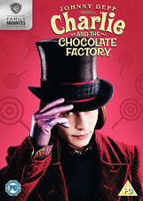 Charlie and the Chocolate Factory (DVD) Johnny Depp