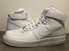 Nike Air Force 1 '07 High SZ 9 Triple White OG Classic AF1 315121-115