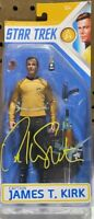 William Shatner Auto Signed Captain Kirk Star Trek Action Figure TOS JSA!