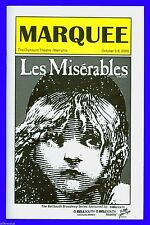 Playbill + Les Miserables + Stephanie Waters , Diana Kaarina , Joan Almedilla