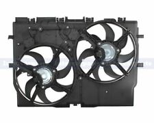 Twin Radiator Fans with Housing for Fiat Ducato Peugeot Boxer Citroen Relay