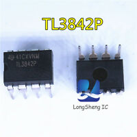 10PCS TL3842P CURRENT-MODE PWM CONTROLLERS DIP8 new