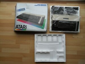 mint condition console, boxed & fully working - ATARI 64K COMPUTER 800XL