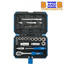 """DRAPER 89558 3/8"""" Sq Dr. 34 piece Metric socket set A1597"""