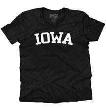 Iowa Athletic Vacation Ia State Pride Gift V-Neck Tees Shirts Tshirt T-Shirt