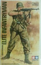 Tamiya1/16 scale model kit  WW2 German elite infantryman.