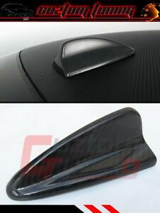 UNIVERSAL STICK ON REAL CARBON FIBER ROOF TOP SHARK FIN DECORATIVE ANTENNA