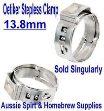 NEW Oetiker Clips 13.8 mm Great for 8 mm I.D Beer Hose Homebrew Commerical keg
