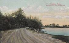 Antique POSTCARD c1907-15 Watson's Pond near Sabatia Lake TAUNTON, MA 14137