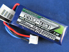 1 New Turnigy nano-tech 300mah 2S 35C Batteries Lipo EFLB2002S25 umx mig stryker