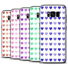 Étuis, housses et coques roses Samsung Galaxy S8 en silicone, caoutchouc, gel pour téléphone mobile et assistant personnel (PDA)