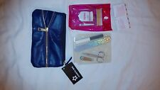 Brand New With Tags Purple MakeUp Bag, Superdrug.beauty grooves eye set,nail set