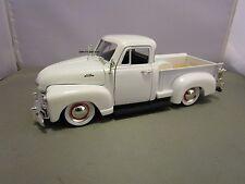 JADA 1/24 DUB CITY WHITE 1953 CHEVY 3100 PICK UP USED VERY NICE NO BOX