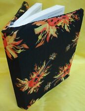 6 NEW  Black Book Cover Stretchable Fabric Sox School College Student  WHOLESALE