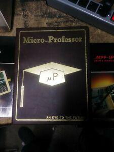 Vintage ~ Original Micro-Professor with manuals Taiwan Computer EPB-MPF