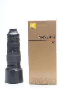 Nikon Nikkor AF-S 200-500mm f5.6 E ED VR Lens 200-500/5.6 #441