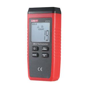 UT373 Handheld LCD Digital Tachometer Speedometer Tach Meter D5C4