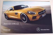 Mercedes . AMG GT . October 2014 Sales Brochure
